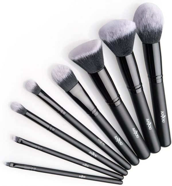 Anjou Brochas Maquillaje Profesional 8 Piezas